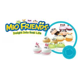 """Контейнер для линз с пинцетом """"MioFriends"""""""