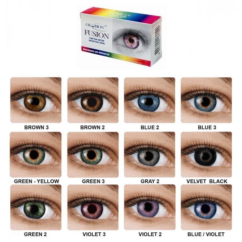 Линзы для глаз купить в москве контактные