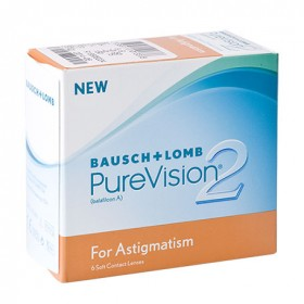 Pure Vision 2 HD for Astigmatism (3 шт.)