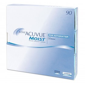 1-DAY Acuvue Moist for Astigmatism (90 шт.)